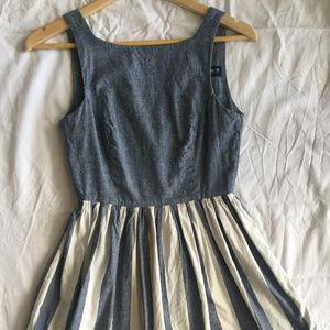 American Apparel Candycane dress